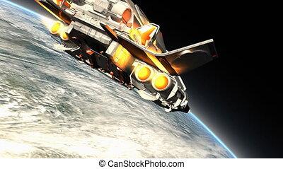 "Science fiction spaceship - ""3D CG, Science fiction ..."