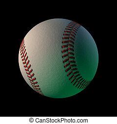 3d cgi baseball - 3d cgi computer rendered baseball