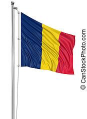 3D Chad flag
