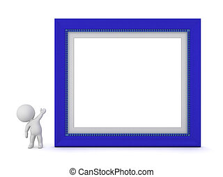 3D Character Showing Large Frame