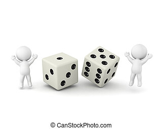 3D Characters and Dice