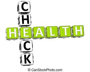 Check Health Crossword