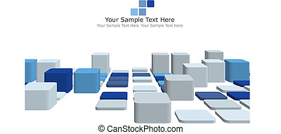 3d checked background - Abstract 3d checked business ...