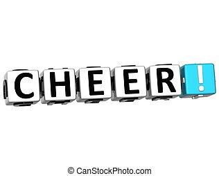 3D Cheer Crossword