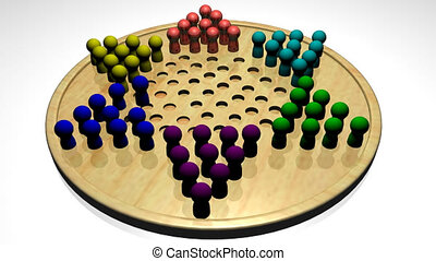 Chinese Checkers - 3d Chinese Checkers in HD