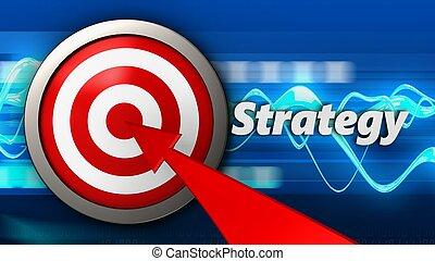 3d, cible, stratégie