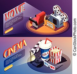 3D Cinema Banners Collection