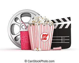 3D cinema concept