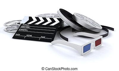 3D Cinema equipment
