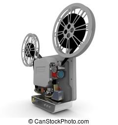 3d cinema film projector