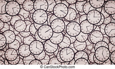 """3D Clock face animation."""