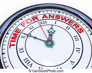 3d clock - time for answers
