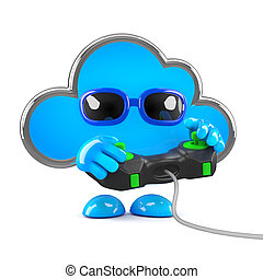 3d Cloud gamer