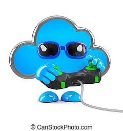 3d Cloud gamer