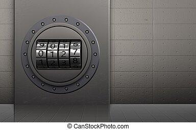 3d code dial safe