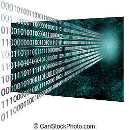3d, codice binario