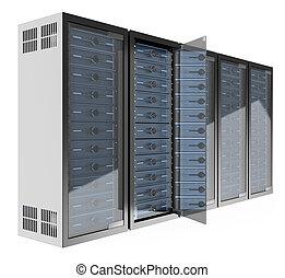 3D Communications rack