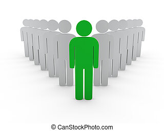 3d, companhia, saliência, líder, equipe