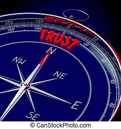 3D compass - Trust