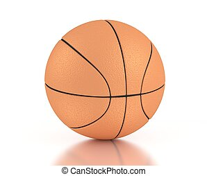 3d computer generated basketball