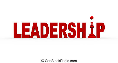 3d concept of leadership