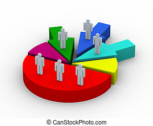 3d, concepto, de, empresa / negocio, alianza, y, combinar