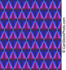 3d cone pattern