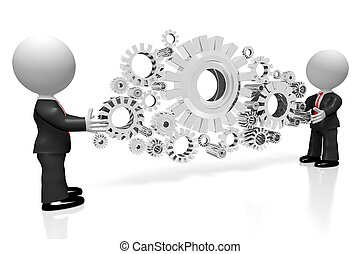 3D cooperation concept