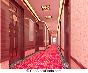 3d corridor