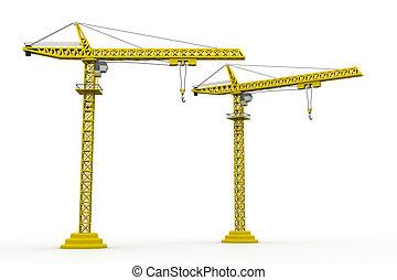 3d crain construction