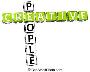 Creative People Crossword