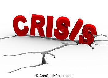 3d crisis earth crack