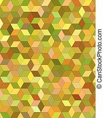 3d cube mosaic vector background design