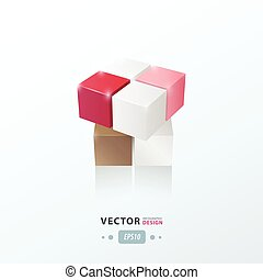 3D Cube Toy Game love valentine style