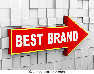 3d cube wall arrow - best brand