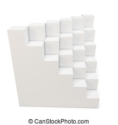 3d cubes abstract