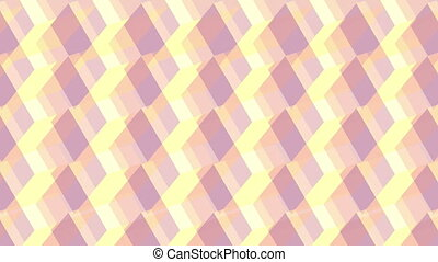 3d cubes abstract geometric illusion background