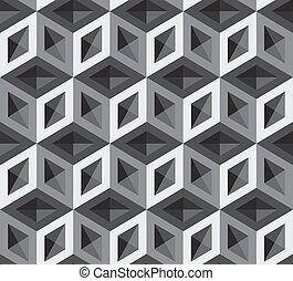 3d cubes pattern illustration. Background and Backdrop.