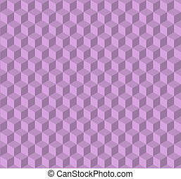 3d cubes seamless background, illustration modern style design. Embossed cuboids abstract pattern.