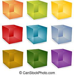 3d, cubi