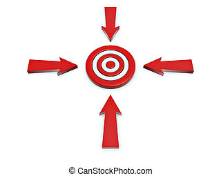 cursor click on target - 3d cursor click on target isolated...