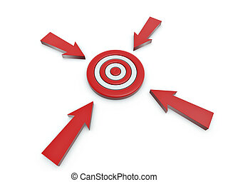 cursor click on target - 3d cursor click on target isolated ...