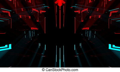 3D Dark Strobe Therapy VJ - This seamlessly looping video...