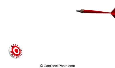 3d Dart Hitting Cost Reduction Targ - A 3 dimensional dart...