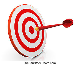 3d dart on target