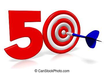 3D darts - fifty (50)