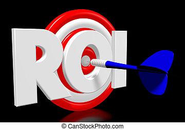 3D darts - ROI - return on investment