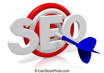3D darts - SEO - search engine optimization