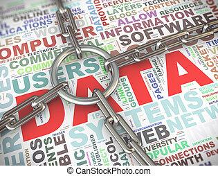 3d data security concept