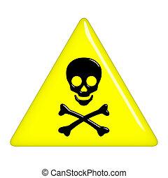 3D Death Sign
